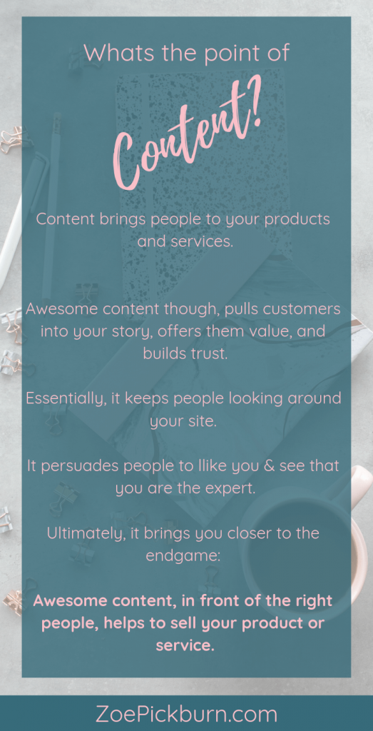 Whats the point of content marketing?