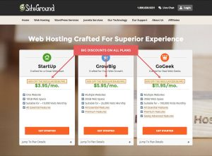 Choosing hosting for your food blog